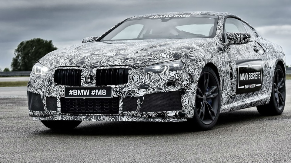 BMW M8 Previewed At Nurburgring 24-Hour - M8 GTE Racer On The Way