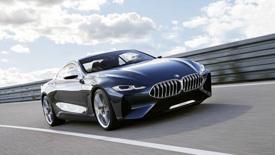 BMW 8-Series concept.