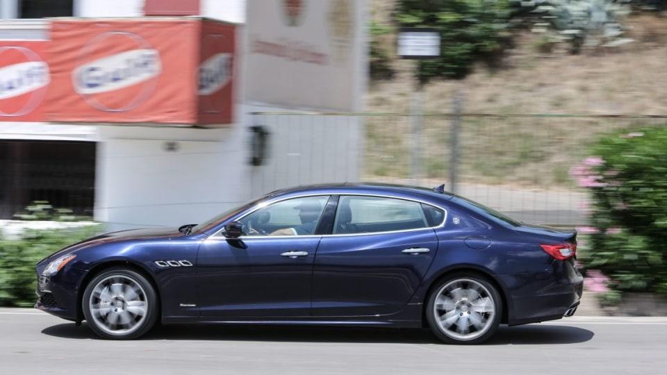 2016 Maserati Quattroporte GTS GranLusso.