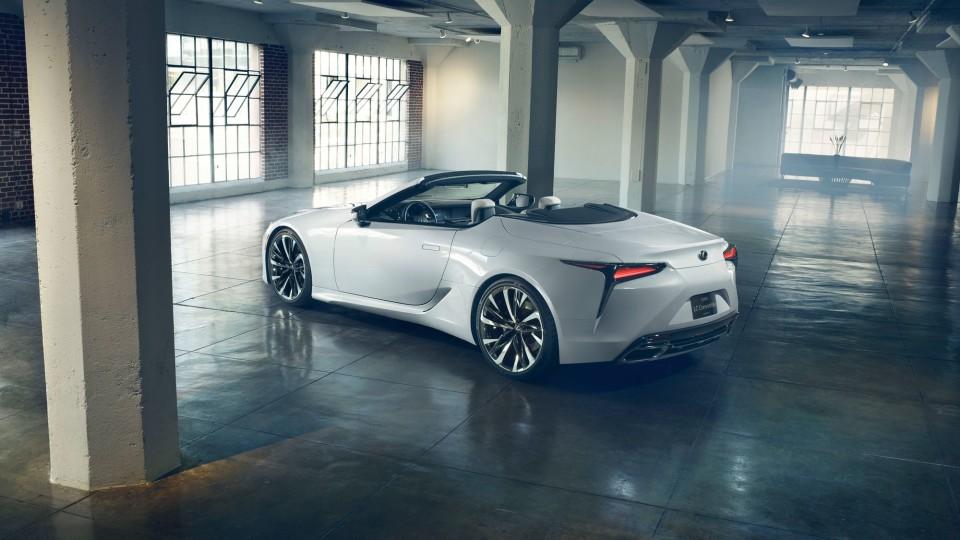 Lexus LC Convertible revealed
