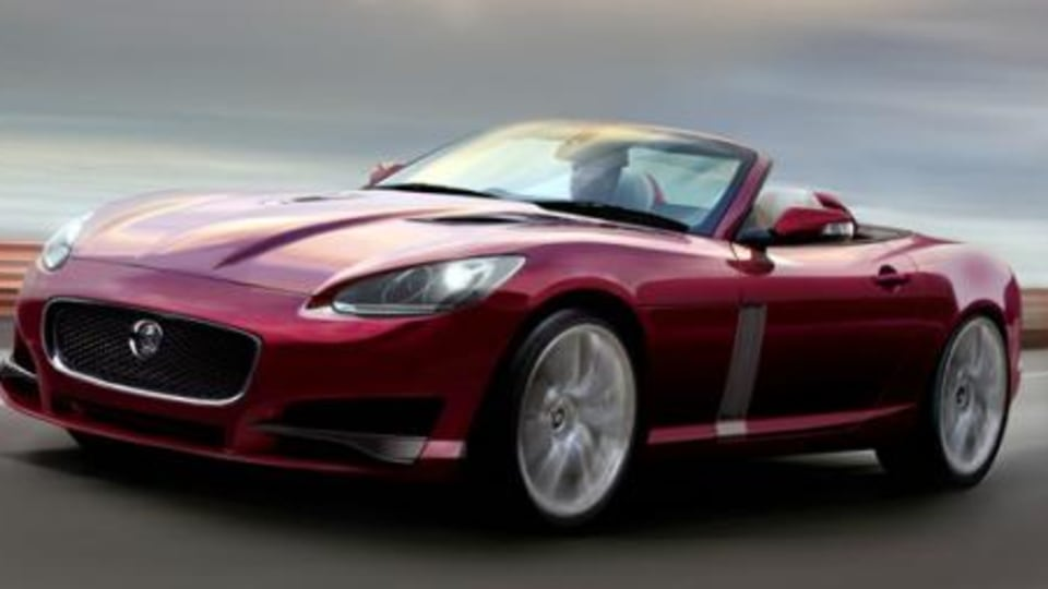 Jaguar F-Type to be based on XF platform, launch in 2012?