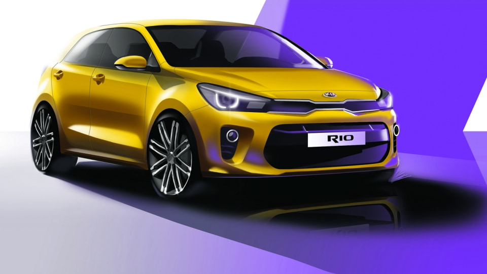 Kia Rio - All-New Fourth Generation Model To Debut At Paris Motor Show