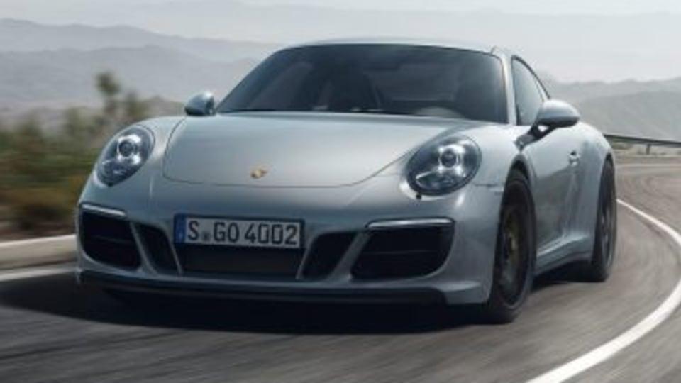 911 Carrera 4 GTS 2017 Porsche 911 GTS.