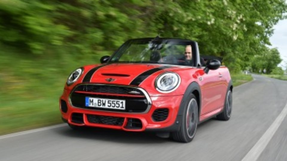 Mini Convertible JCW pricing revealed