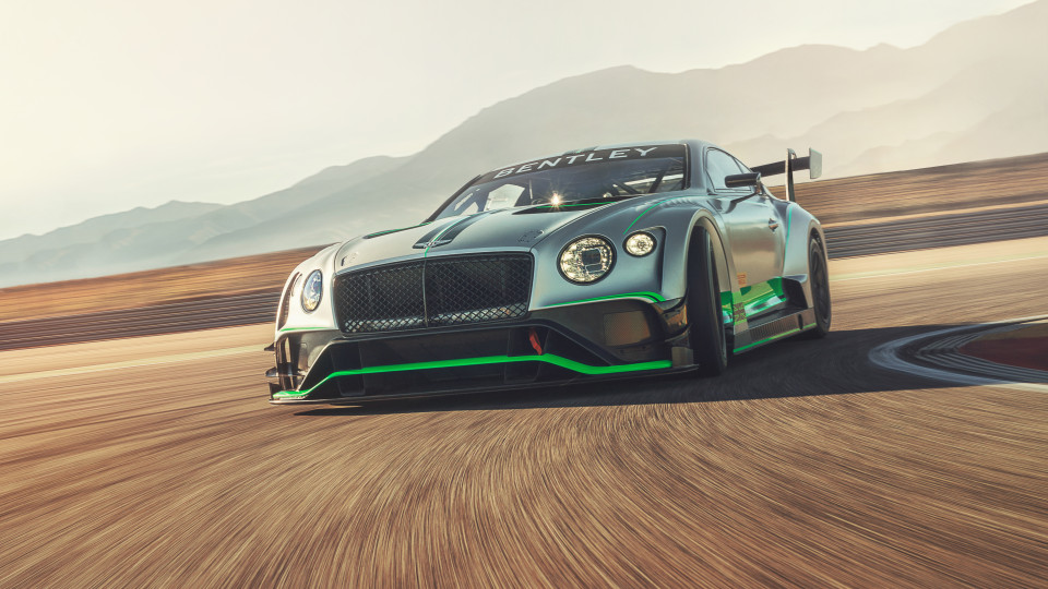 Bentley's new Continental GT3 will make its racing debut at Monza.