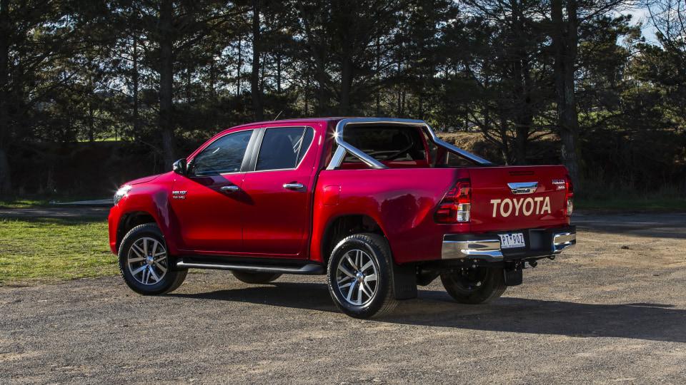 2020 best dual cab ute toyota hilux exterior rear