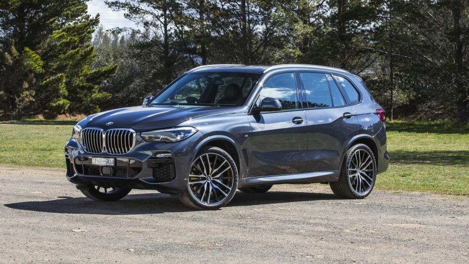 2020 best large luxury suv bmw x5 exterior