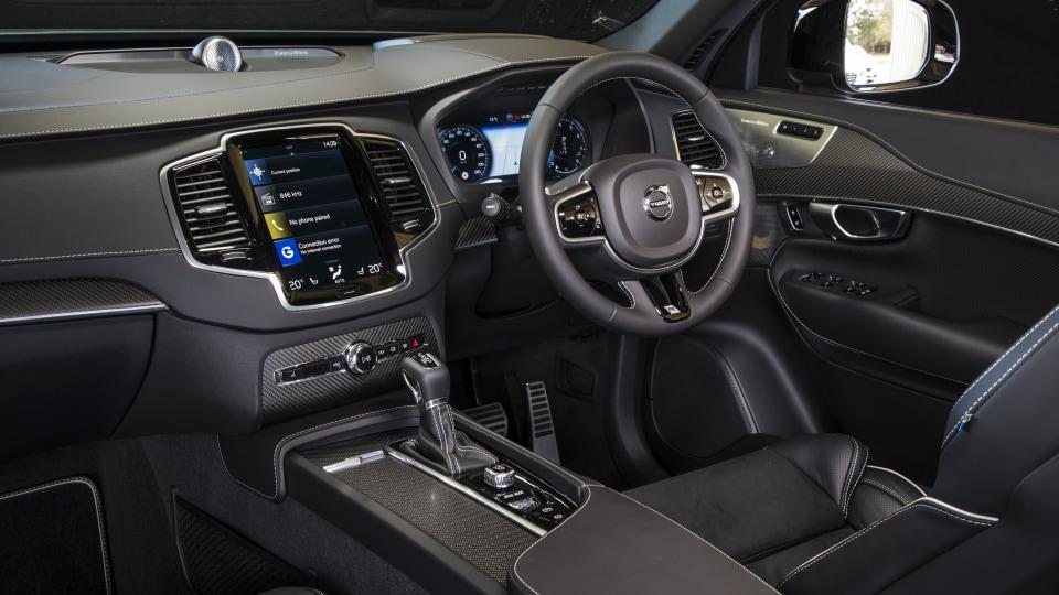 2020 best large luxury suv volvo xc90 interior