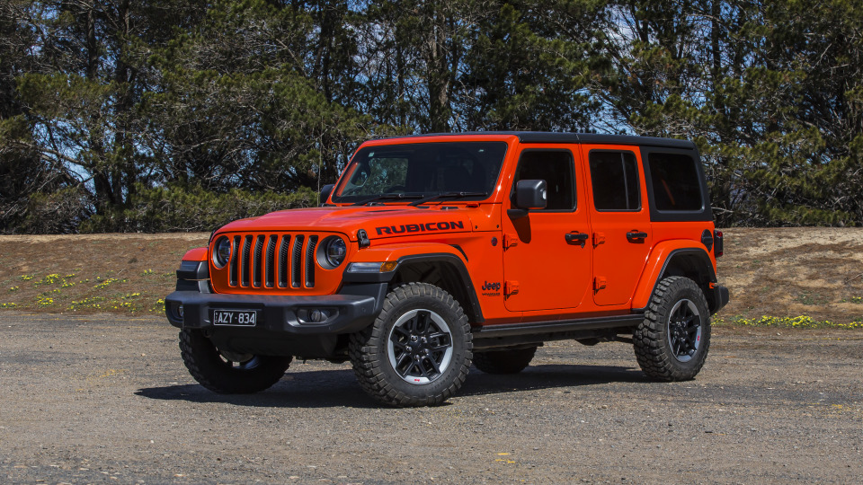 2020 best off-road suv jeep wrangler exterior