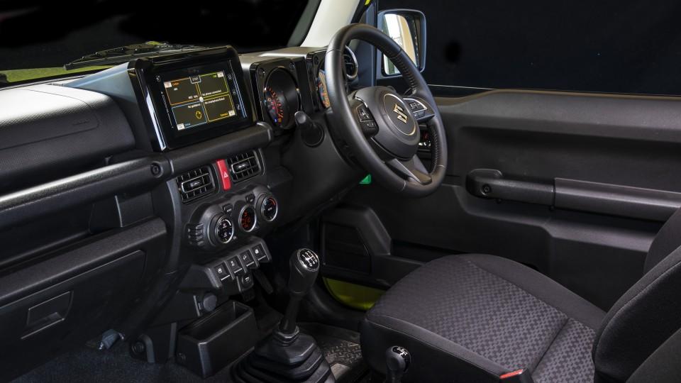 2020 best off-road suv suzuki jimny interior