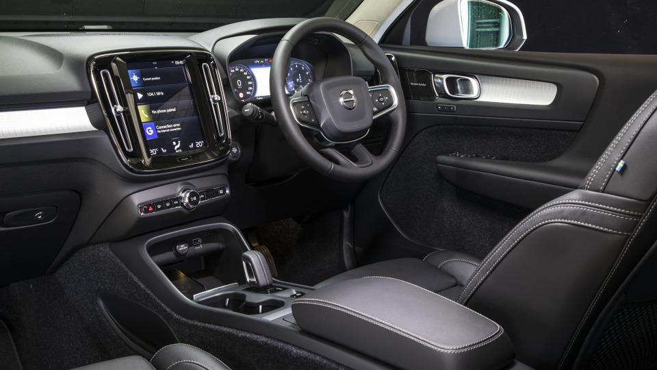 2020 best small luxury suv volvo XC40 interior