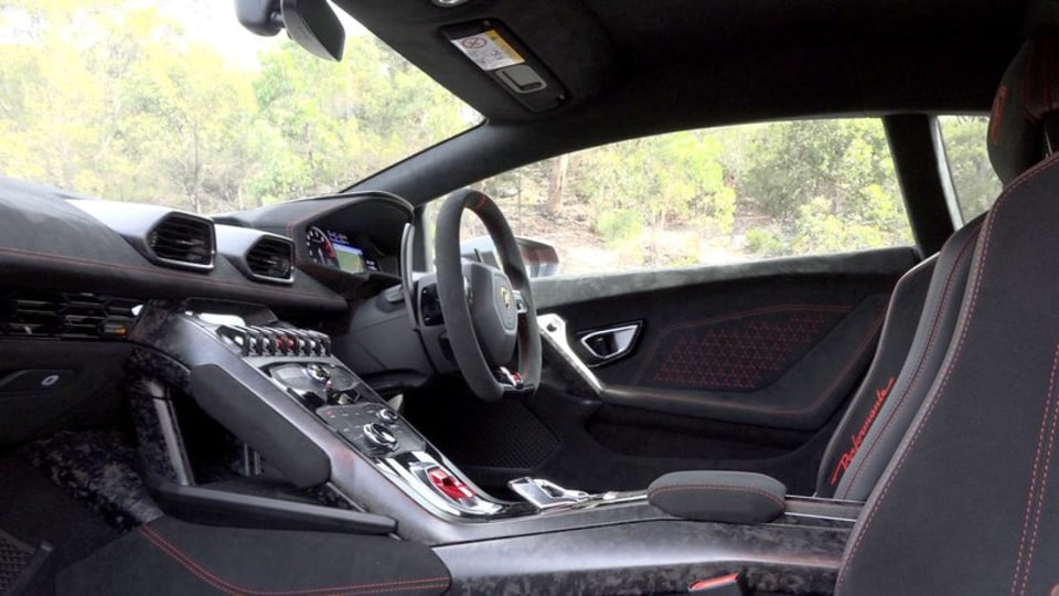 2020 best sports car over $100k lamborghini huracan performante interior