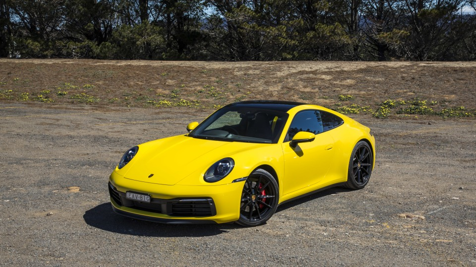 2020 best sports car over $100k porsche 911 carrera s exterior