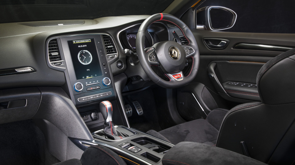 2020 best sports car under $100k renault megane RS interior