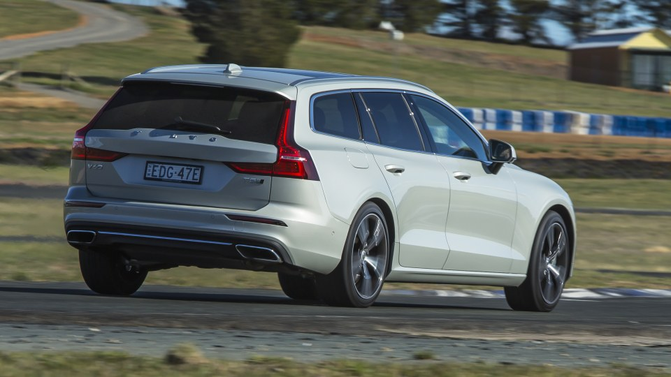 2020 best medium luxury car volvo s60 exterior rear