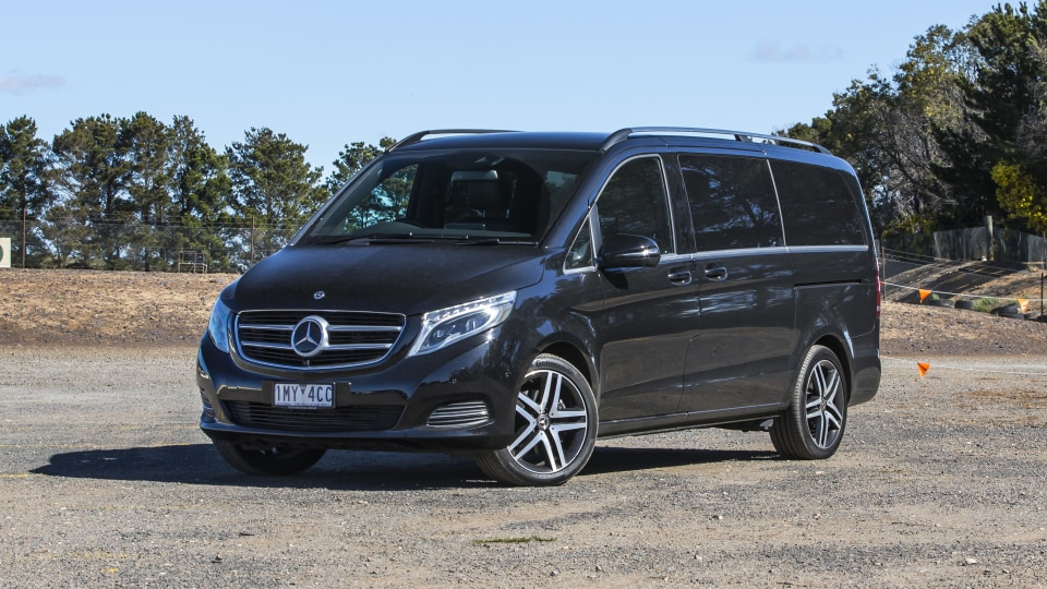 2020 best people mover finalist mercedes v class exterior