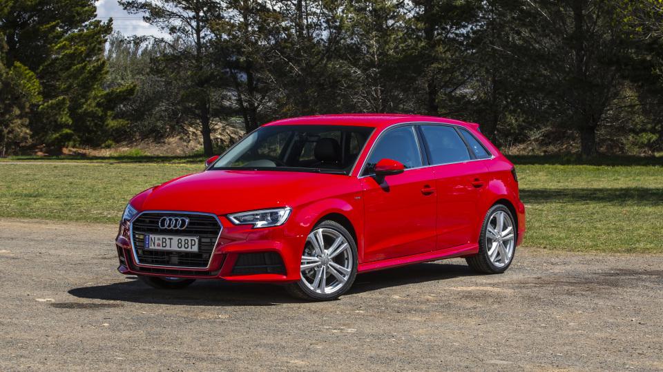 2020 best small luxury car audiA3 exterior