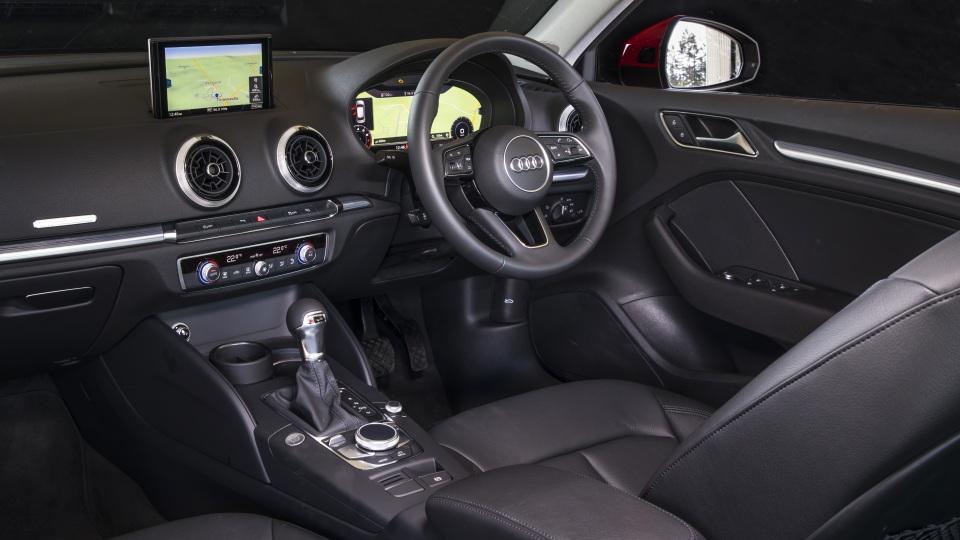 2020 best small luxury car audiA3 interior