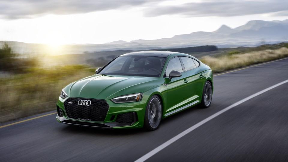2018 Audi RS5 Sportback revealed