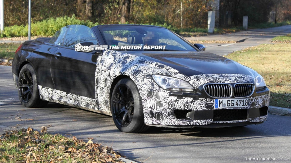2012 BMW M6 Convertible Spied Testing In Europe