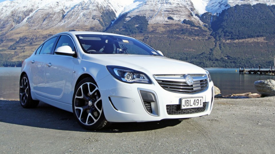 2015 Holden Insignia VXR Review: Sticky, Porky, But Nice...
