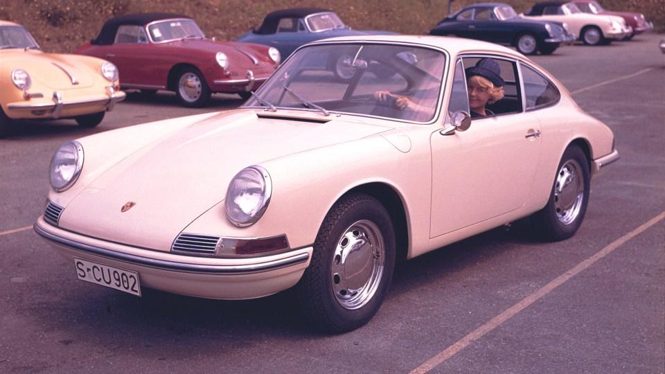 1960s Porsche 911.
