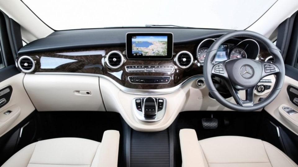 Mercedes-Benz V250d.
