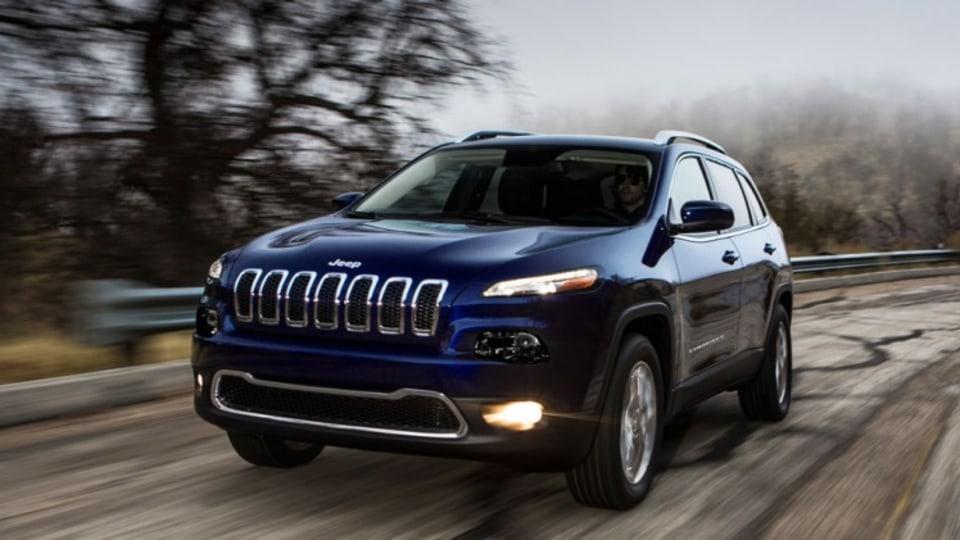 New Jeep Cherokee.