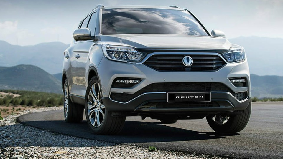 SsangYong Rexton - All-New 2018 SUV Revealed Ahead Of Seoul Motor Show