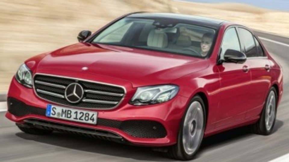New Mercedes-Benz E-Class smarter than an A380
