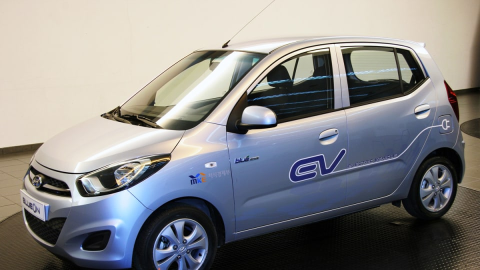 Hyundai BlueOn Electric Vehicle Unveiled In South Korea, Previews i10 Update