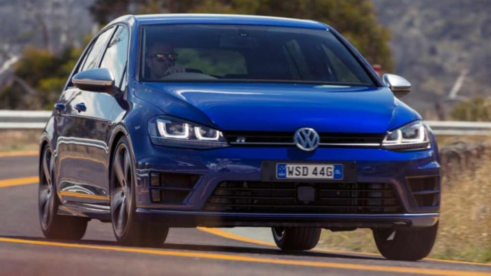 New Volkswagen Golf R.