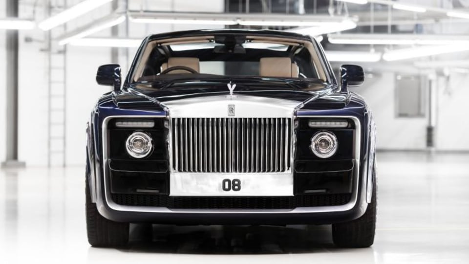 Rolls-Royce unveils world's most expensive new car