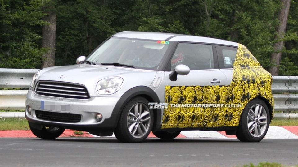 MINI Countryman Coupe Spied Testing