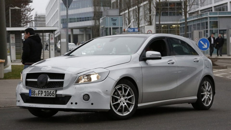 Mercedes-Benz A-Class spy shot