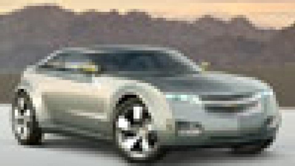 Chevrolet Volt concept car