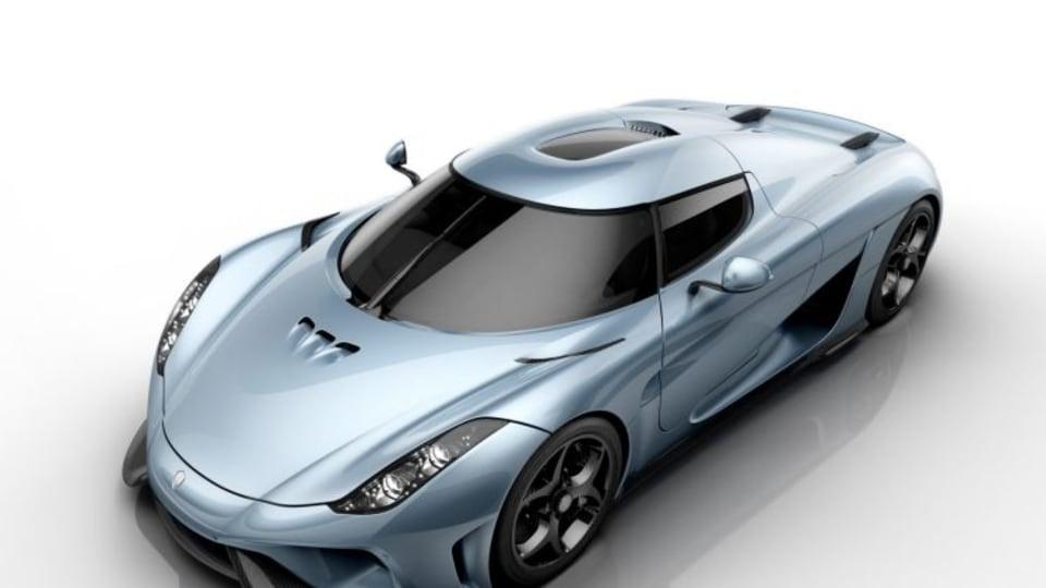 Koenigsegg unveils 1100kW Regera