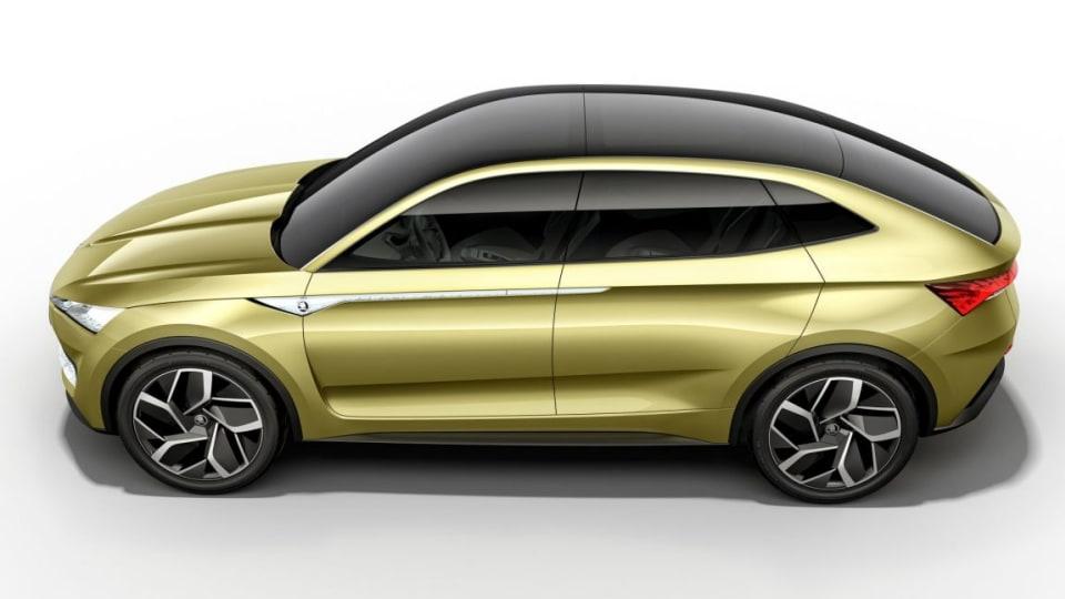 2017 Skoda Vision E concept.