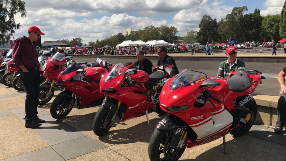 Italian motorcycle heritage was accounted for at AutoItalia