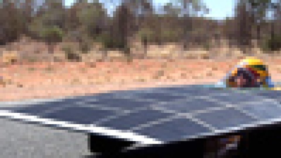 Solar power: coming to a road near you, eventually.