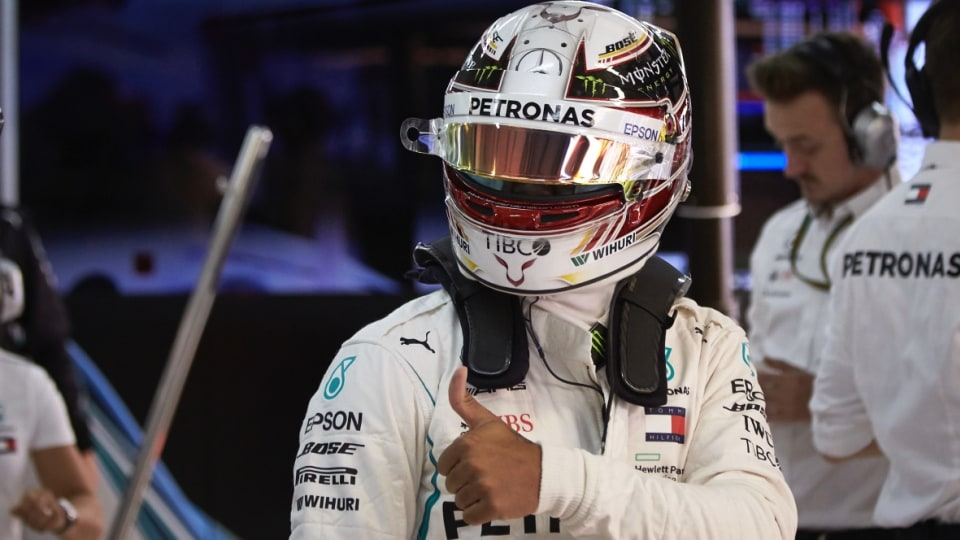 Motorsport: Hamilton driving on an 'unseen' level