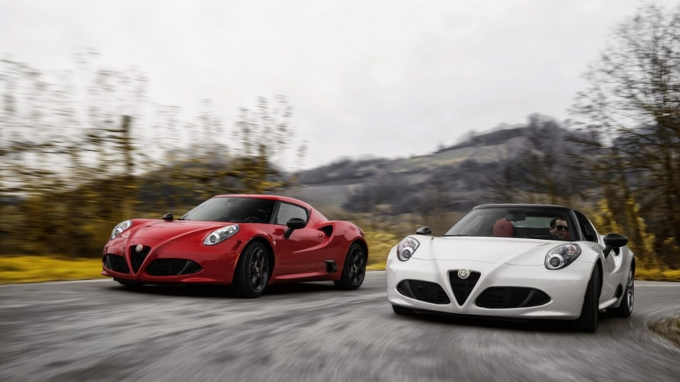 Alfa Romeo's renaissance continues with the introduction of a drop-top version of its baby supercar the 4C Spider.