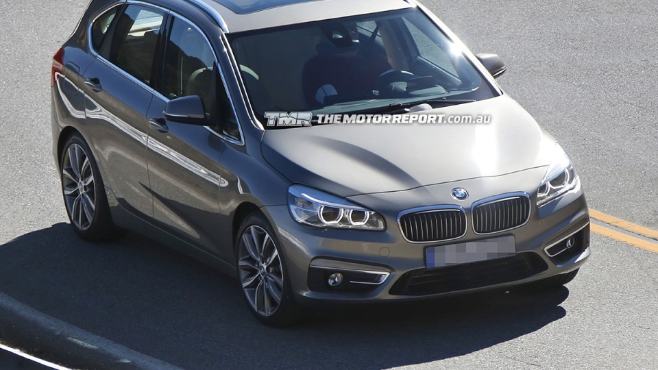 BMW 2 Series Active Tourer Revealed Without Camouflage: Spy Photos