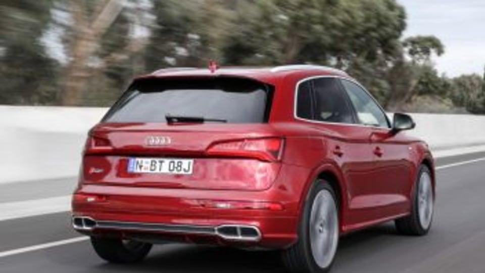 2017 Audi SQ5.