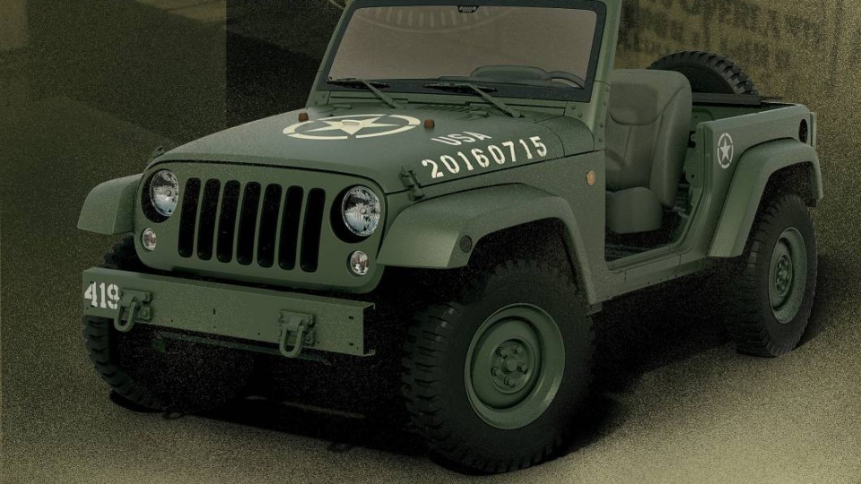 Jeep Salutes Its Heritage With 75th Anniversary Wrangler