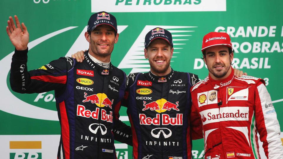F1: Webber Says Alonso & Vettel Better Than Hamilton