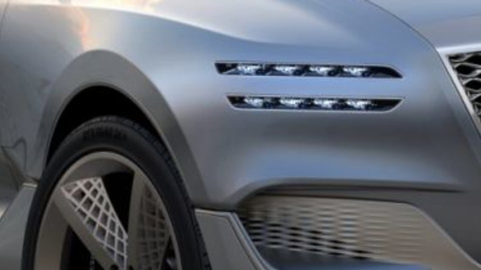 2017 Genesis GV80 concept.
