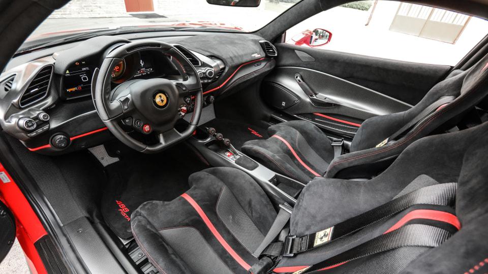 2018 Ferrari 488 Pista.
