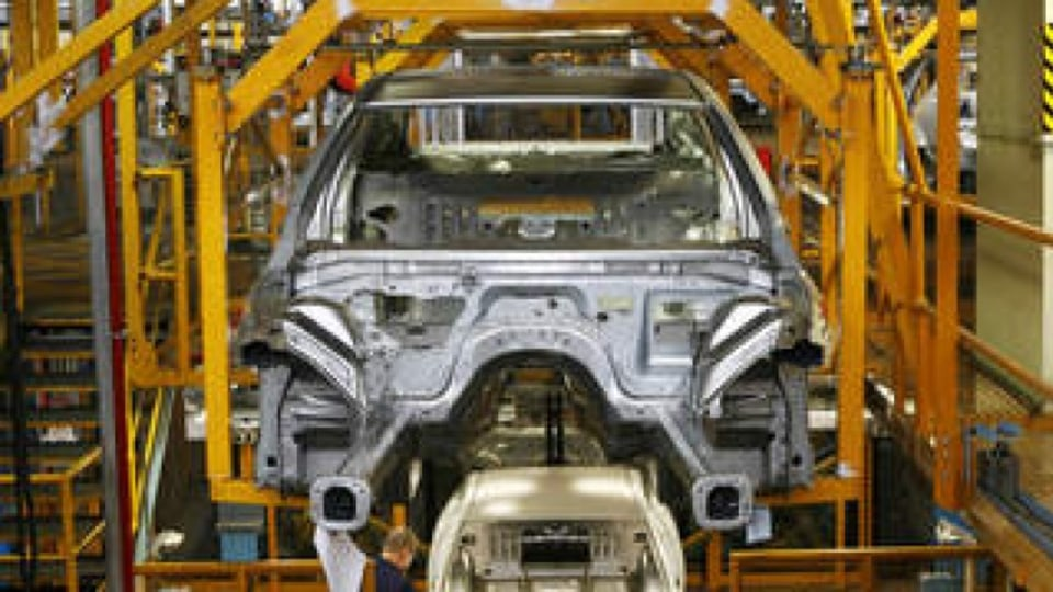 holden production line