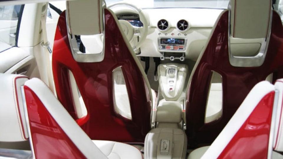 Audi A1 Sportback Concept car. Paris Motor Show 2008. Picture: Age journalist Andrew Heasley